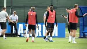 News video: England train near St Petersburg ahead of Tunisia match