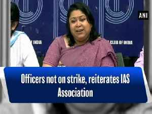 Officers not on strike, reiterates IAS Association [Video]