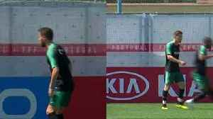 News video: Portugal's Adrien Silva says not expecting 'easy' Morocco match