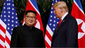 News video: Trump's Kim Comment Sparks Social Media Outcry