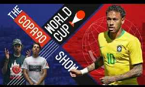 News video: Will Neymar Prove His World Cup Greatness? | COPA90 WORLD CUP SHOW