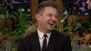 News video: Jeremy Renner Teases Hawkeye Fans