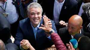 News video: Pro-Business Candidate Wins Colombian Presidential Election