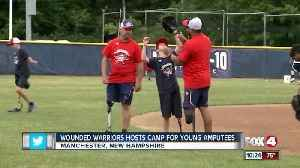 News video: Baseball camp for amputees