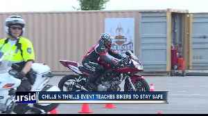News video: Chills N Thrills Event Gives Bikers Safety Tips