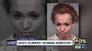 News video: Woman arrested after man found dead in Litchfield Park cornfield
