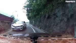News video: Overtaking On Mountain Road