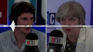 News video: Theresa May On Why She Lifted The Cap On Tier Two Doctors And Nurses