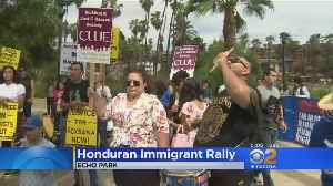 News video: Hondurans Protest Trump Policy Change That Will Kick Them Out Of US