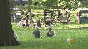 News video: Families Pack Central Park On Father's Day Weekend