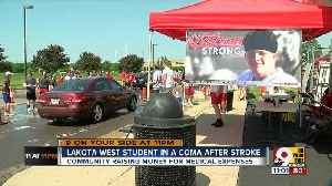 News video: Stratman Strong: Community shows support for lacrosse player in coma