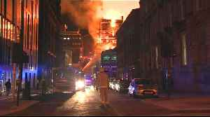 'Heartbreaking': Fire consumes Glasgow School of Art for second time [Video]
