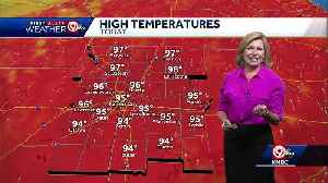 News video: First Alert: Father's Day will be hot, windy