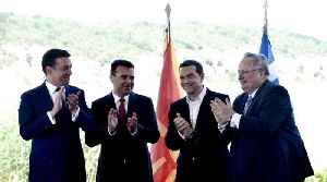 Macedonia signs agreement with Greece to changing country's name