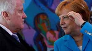 News video: German Interior Minister Claims Migrant Row With Merkel Can Be Overcome