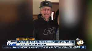 News video: Police search for missing man with memory loss