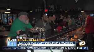 News video: World Cup food drive benefits SD food Bank