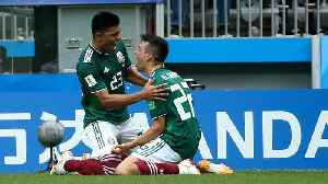 News video: Earthquake Detected in Mexico City After Lozano's Goal vs. Germany
