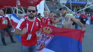 News video: Serbia fans excited after first World Cup win