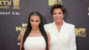 News video: Kim Kardashian and Kris Jenner Have a Girls Night Out at MTV Movie & TV Awards as Kylie Bails