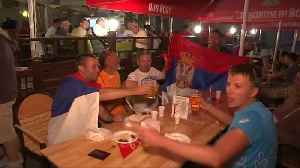 News video: Serbia fans enjoy the after party following Costa Rica victory
