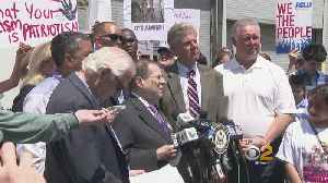 News video: Local Lawmakers Pay Surprise Visit To New Jersey Immigration Detention Center