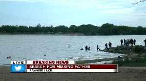 News video: Search at Pawnee Lake underway for missing man