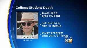 News video: Texas Tech Student Dies In Fall While Studying In Russia
