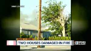 News video: Two houses damaged in Downtown Las Vegas fire