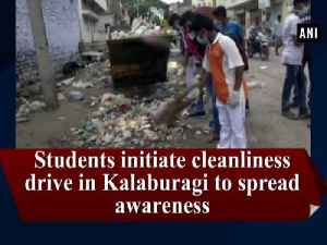 News video: Students initiate cleanliness drive in Kalaburagi to spread awareness