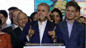 News video: Colombia President-Elect Eases Investor Worries