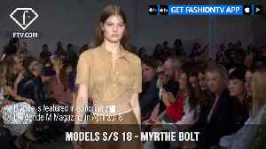 News video: Myrthe Bolt Models Spring/Summer 2018 | FashionTV | FTV