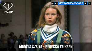 News video: Rebekka Eriksen Models Spring/Summer 2018 | FashionTV | FTV