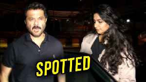 News video: Anil Kapoor Dinner Outing With Daughter Rhea, Misses Sonam Kapoor