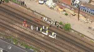 News video: Three people die after being struck by a  train in London