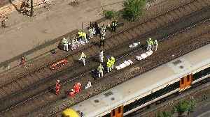 News video: Three killed by train at Loughborough Junction