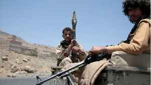 Arab Coalition Strikes At Houthi Fighters In Port City
