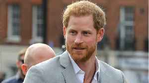 News video: Apparently Prince Harry Wanted To Give President Trump A Chance