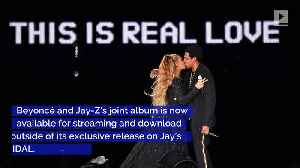 News video: The Carters' 'Everything Is Love' Available on Apple Music, Spotify and Amazon Music