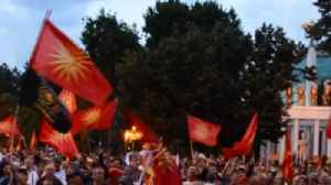 Hundreds Protest Signing of Accord to Change Macedonia's Name