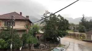 News video: Thunder cought on camera in Prilep, Republic Macedonia