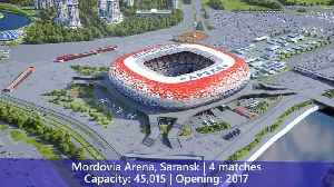 News video: FIFA World Cup 2018 Russia All Stadiums