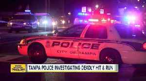 News video: Woman killed in hit-and-run accident on Nebraska