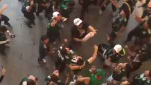 News video: Jubilant Mexican Fans Celebrate Historic World Cup Win Over Germany