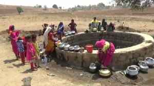 Indian women risk their lives walking miles to get water as crisis deepens [Video]