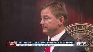 News video: President Trump set to attend fundraising event with Senator Dean Heller