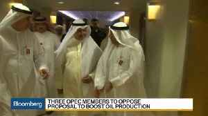 News video: Saudi Oil Chief Faces Toughest Test at OPEC Meeting This Week
