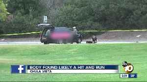 News video: Young man's body found by former teacher in Chula Vista