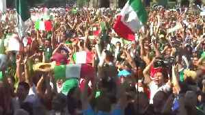 World Cup Celebrations Cause an 'Earthquake' in Mexico [Video]