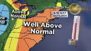 News video: Temps Well Above Normal Heading Into The Work Week